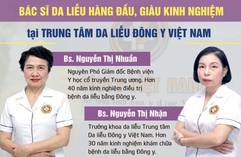Hai bác sĩ chịu trách nhiệm chính trong nghiên cứu và bào chế Bộ sản phẩm Vương Phi
