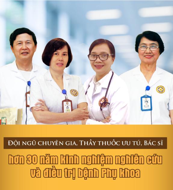 Hoạt động của Trung tâm phụ khoa Đông y Việt Nam