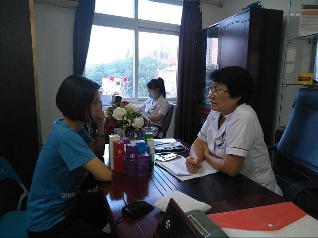 Thầy thuốc Ưu tú, bác sĩ chuyên khoa II Nguyễn Thị Nhuần