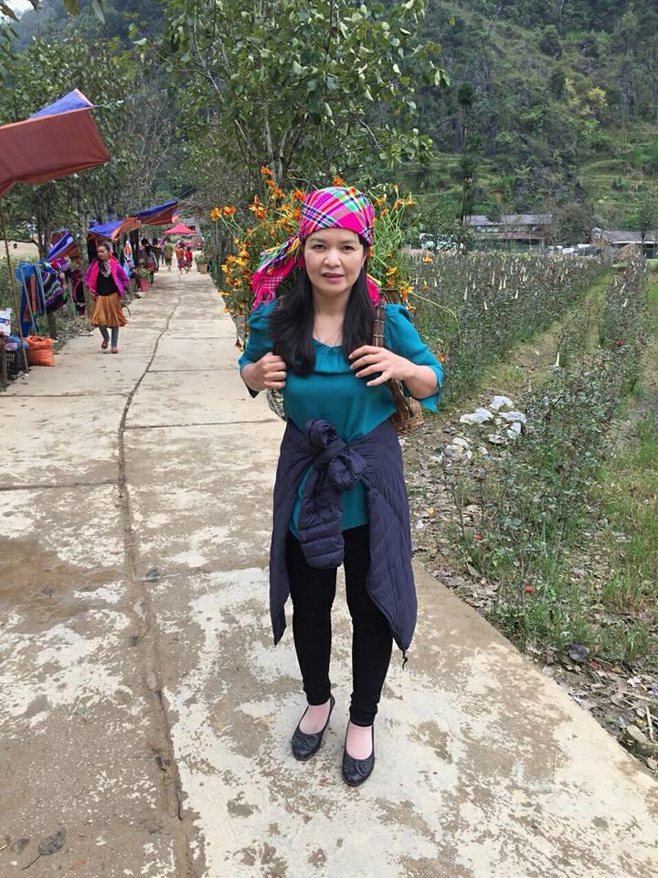 Bác sĩ Nguyễn Thị Lệ Quyên công tác tình nguyện