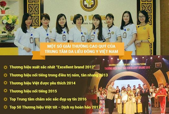 Thành tựu của Trung Tâm Da Liễu Đông Y Việt Nam
