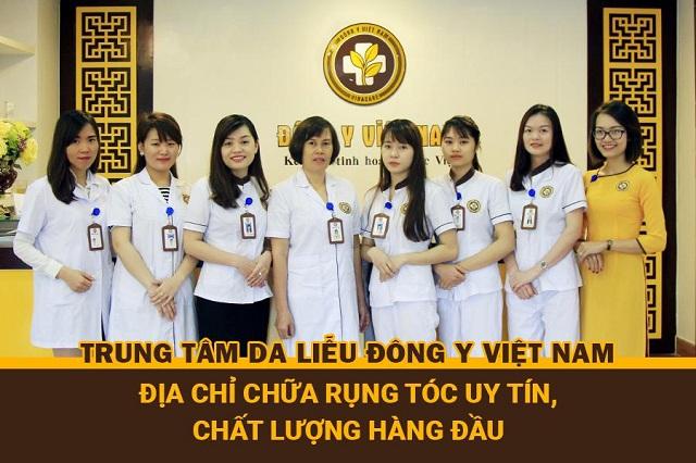 """Trung tâm Da liễu Đông y Việt Nam - Cơ sở chữa rụng tóc """"nức tiếng"""" đất Sài thành"""