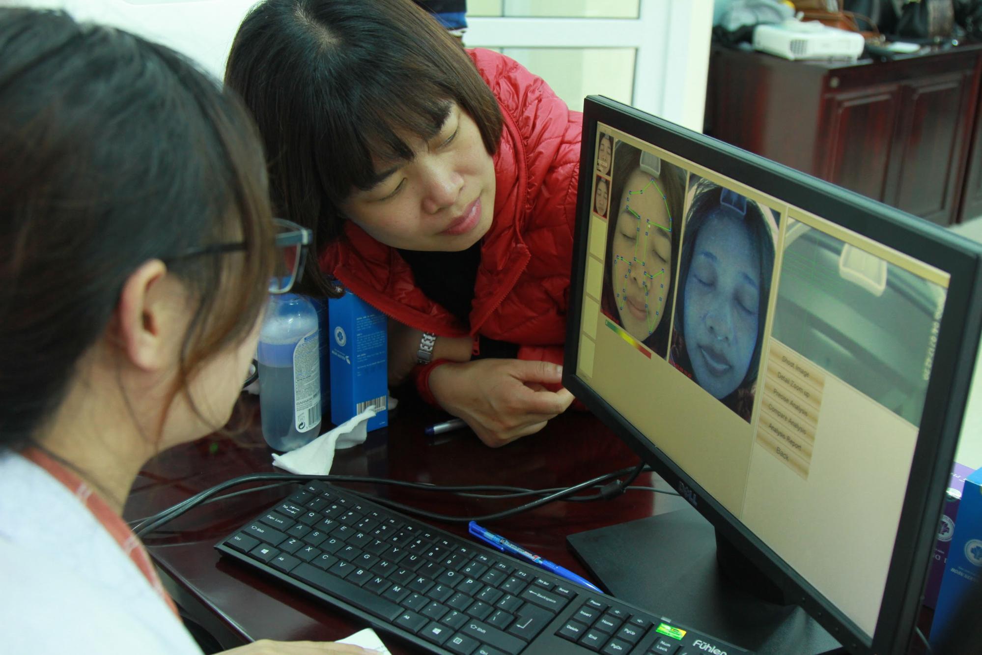 Những công nghệ phân tích da tân tiến được sử dụng trong sự kiện Vì vẻ đẹp của một nửa thế giới