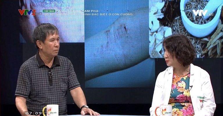 Bác sĩ Tuyết Lan VTV2 giải đáp thắc mắc của người bệnh