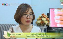 Chị Thỏa chia sẻ hiệu quả bài thuốc Thanh bì Dưỡng can thang trên VTV2