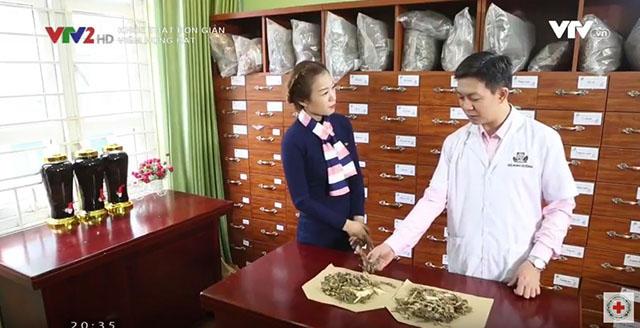 Nhà thuốc Đỗ Minh Đường phối hợp với VTV2 thực hiện tư vấn chữa viêm họng hạt cho toàn dân