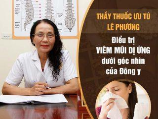 Bác sĩ Lê Phương chữa viêm mũi dị ứng