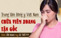 Trung tâm Đông y Việt Nam chữa viêm xoang