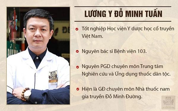 Lương y Đỗ Minh Tuấn gần 20 năm kinh nghiệm chữa thận yếu