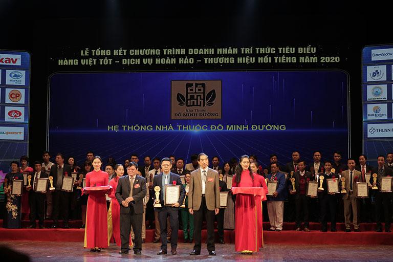 Đỗ Minh Đường nhiều lần đạt giải thưởng uy tín