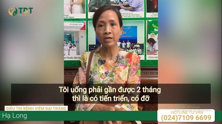 Cô Kim Vân chia sẻ về hành trình chữa bệnh đại tràng của mình