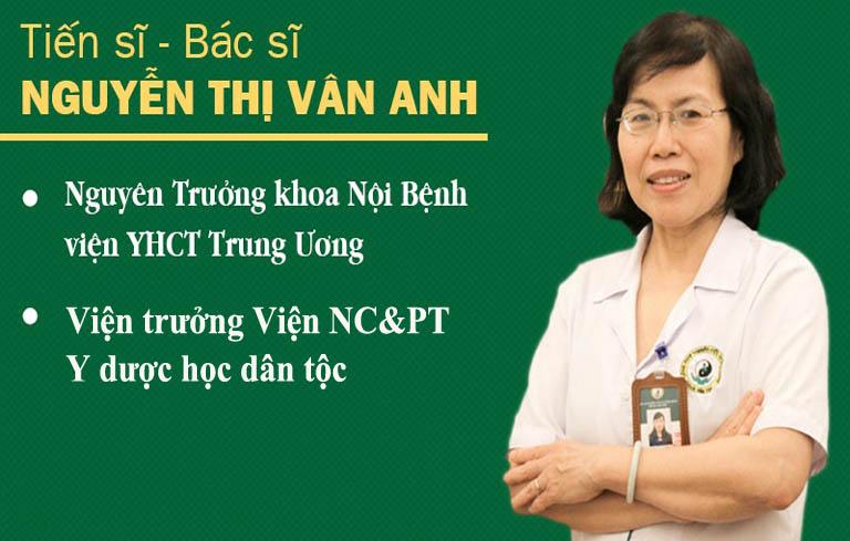 Tiến sĩ, bác sĩ Nguyễn Thị Vân Anh chuyên gia Cầu nối sức khỏe