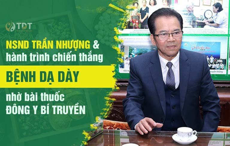NSND Trần Nhượng chia sẻ sự hiểu quả của Sơ can Bình vị tán