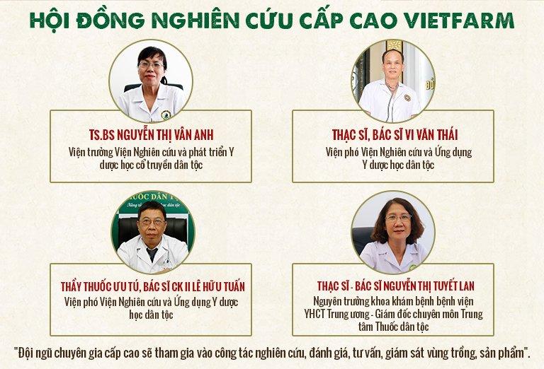 hội đồng nghiên cứu Vietfarm