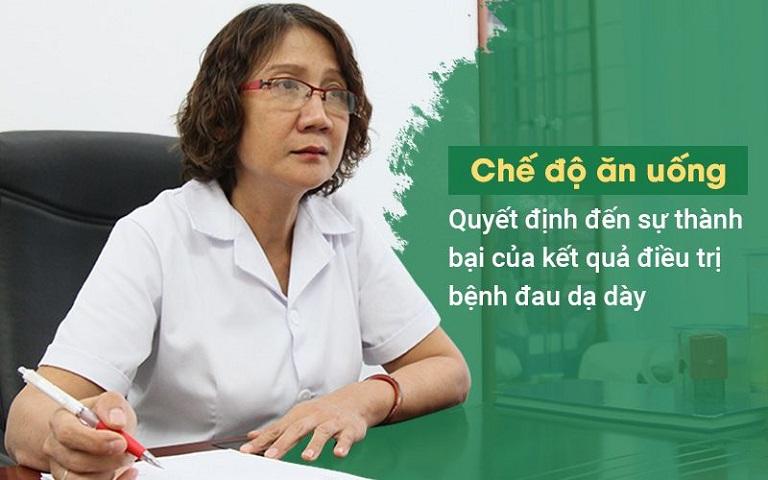 Bác sĩ Tuyết Lan đưa ra lời khuyên trong điều trị dạ dày