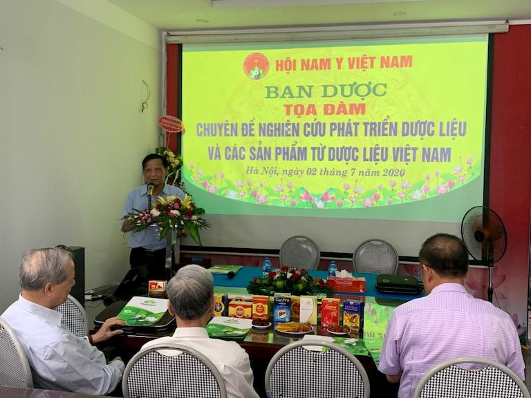 """Tọa đàm """"Chuyên đề Nghiên cứu phát triển dược liệu và các sản phẩm từ dược liệu Việt Nam"""""""