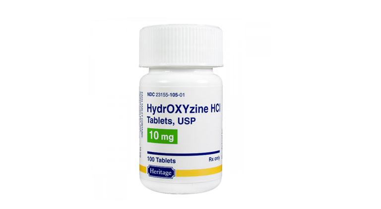 Thuốc uống Hydroxyzinehỗ trợ cải thiện tình trạng mẩn ngứa
