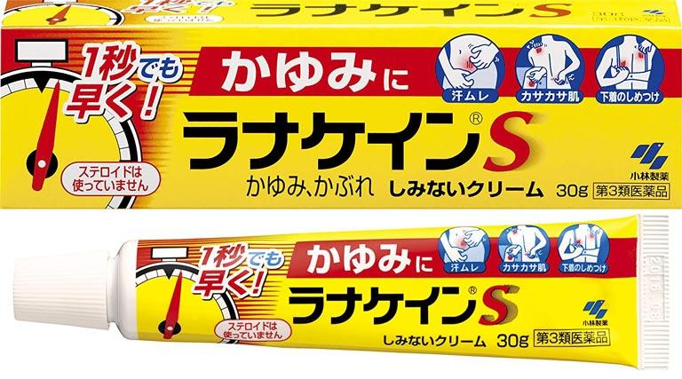 Thuốc bôi trị mẩn ngứa của Nhật Daiichi Sankyo