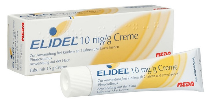 Thuốc bôi ngoài da Elidel