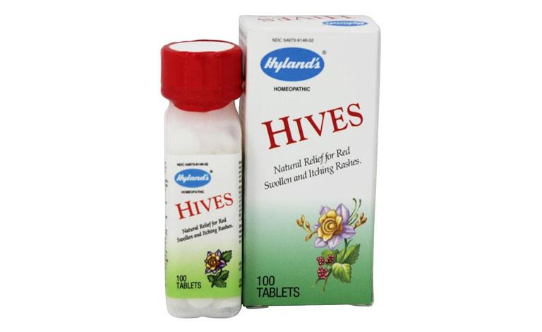 Thuốc Hyland's Hives là thực phẩm chức năng hỗ trợ điều phát ban mề đay hiệu quả