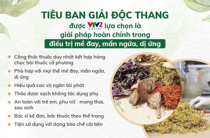 VTV2 giới thiệu Tiêu ban Giải độc thang