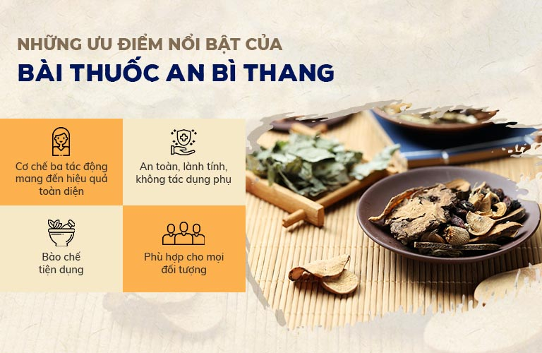 An Bì Thang chữa vảy nến với nhiều ưu điểm