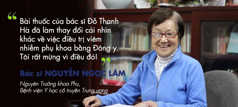Bác sĩ Nguyễn Ngọc Lâm – Nguyên Trưởng khoa Phụ, Bệnh viện Y học cổ truyền Trung ương
