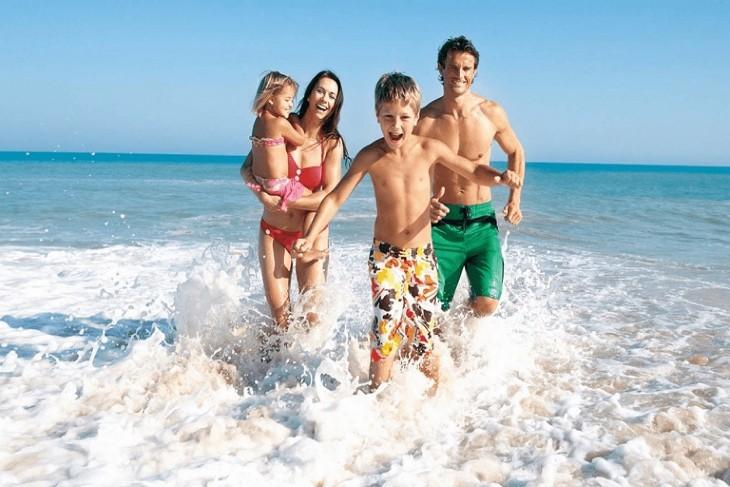 Nên tắm biển từ 15-20 phút