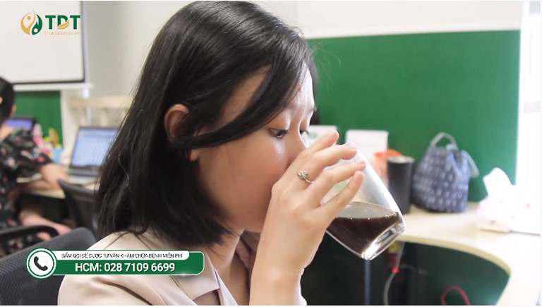 Bài thuốc Tiêu ban Giải độc thang bào chế cải tiến giúp Linh có thể thuận tiện sử dụng bất cứ lúc nào
