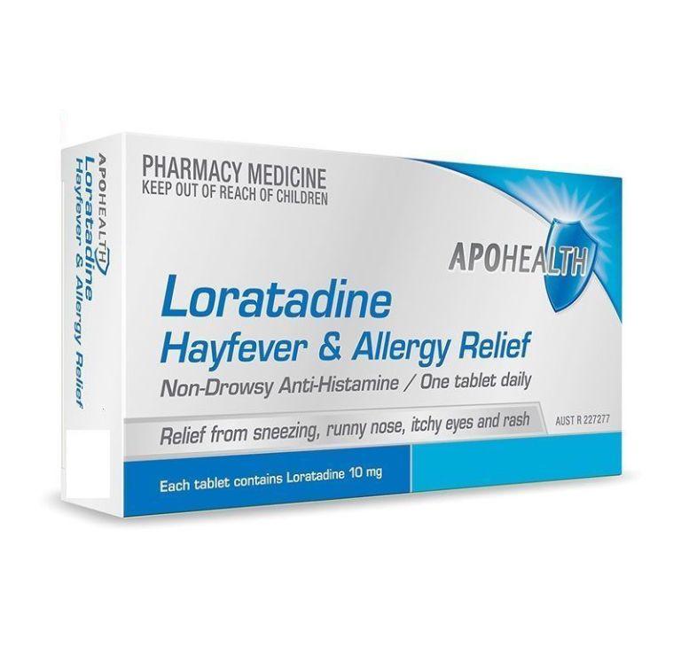 Loratadine là loại thuốc kháng Histamin