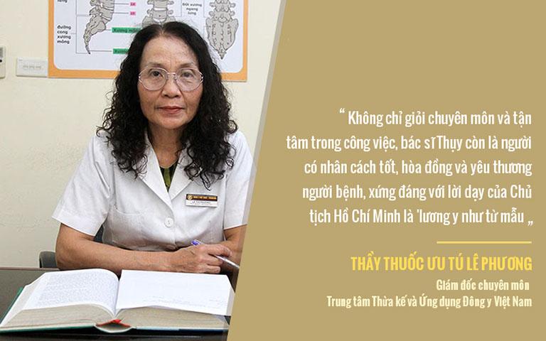 Bác sĩ Lê Phương, Giám đốc chuyên môn Trung tâm Thừa kế và Ứng dụng Đông y Việt Nam