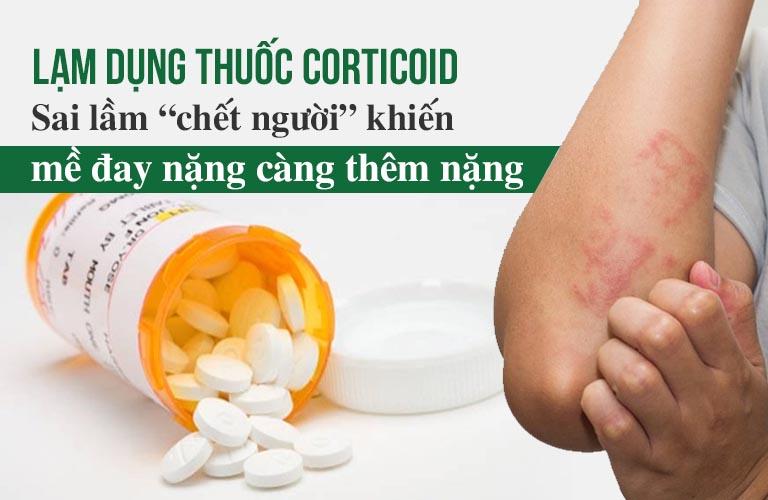 Lạm dụng thuốc corticoid có thể gây hệ lụy khôn lường