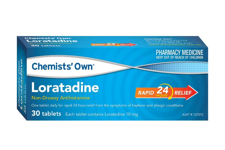 Loratadine khi dùng chung với các loại thuốc khác có thể dẫn đến tương tác thuốc