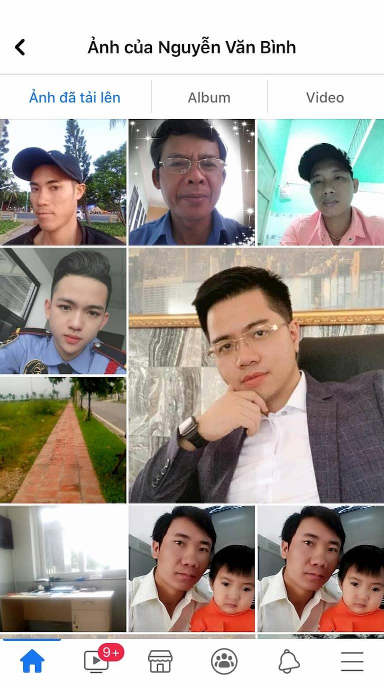 Tài khoản Nguyễn Văn Bình