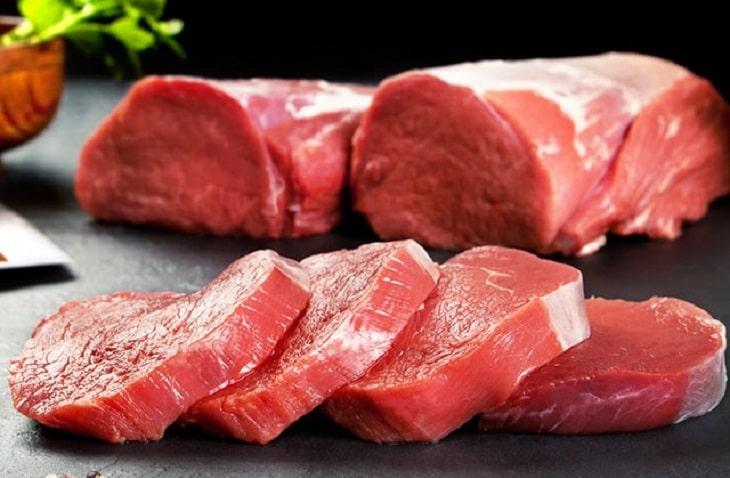 Giảm lượng thịt đỏ để giúp da chóng liền sẹo