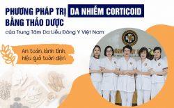 Phục hồi da nhiễm corticoid tại Trung tâm Da liễu Đông y Việt Nam
