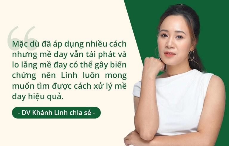 Diễn viên Khánh Linh chia sẻ về quá trình hỗ trợ điều trị mề đay bằng thuốc Tây