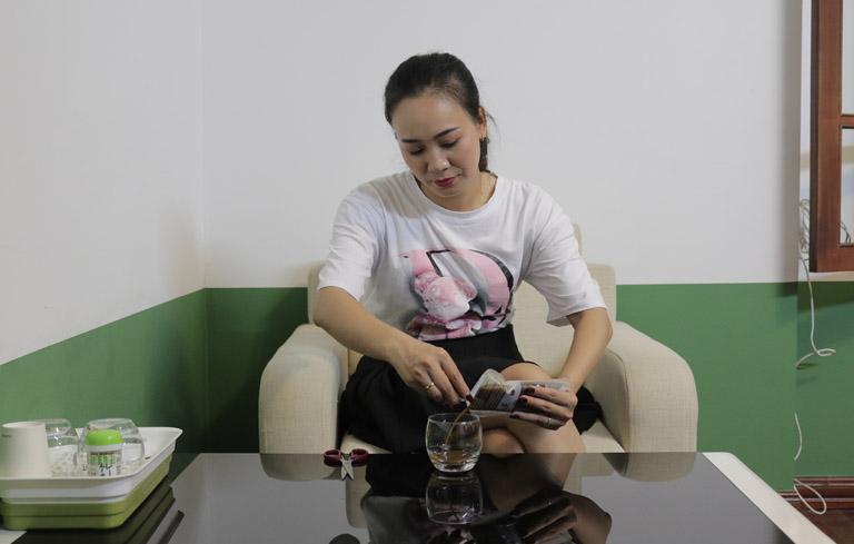 Diễn viên Khánh Linh chia sẻ cách sử dụng thuốc Tiêu ban Giải độc thang