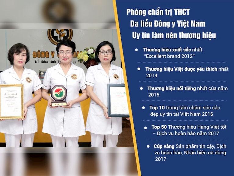 Trung tâm Da liễu Đông y Việt Nam là đia chỉ uy tín trong điều trị các bệnh da liễu bằng thảo dược Đông y
