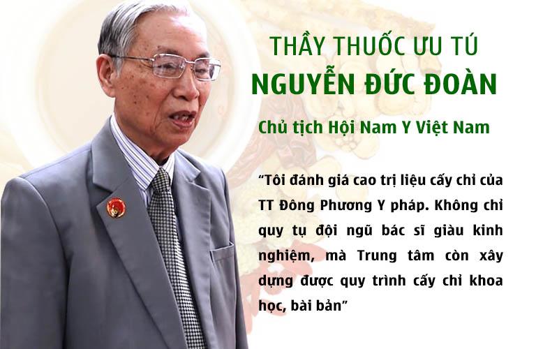Chủ tịch Hội Nam Y Việt Nam đánh giá về TT Đông phương Y pháp