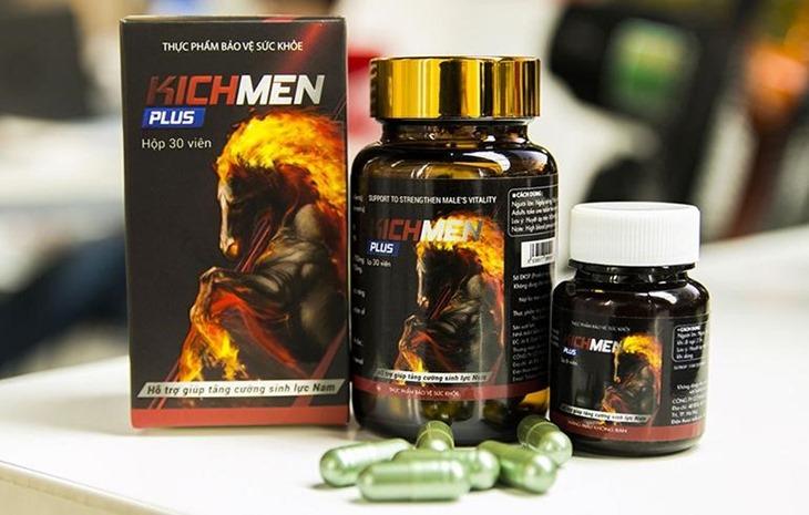 Sản phẩm Kickmen Plus có thành phần từ thảo dược thiên nhiên