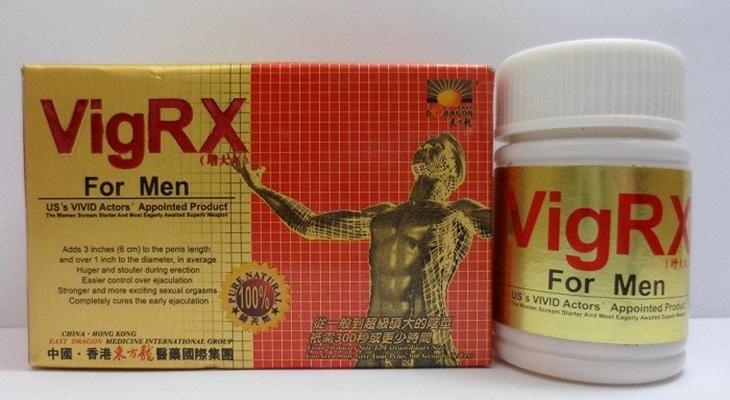 Thuốc chữa yếu sinh lý VigRx For Men được nhiều nam giới tin dùng