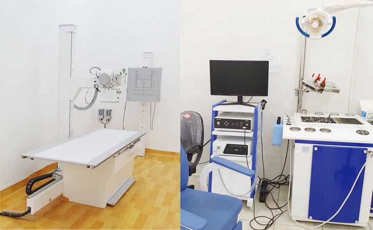 Bệnh viện Quân dân 102 được đầu tư trang thiết bị hiện đại