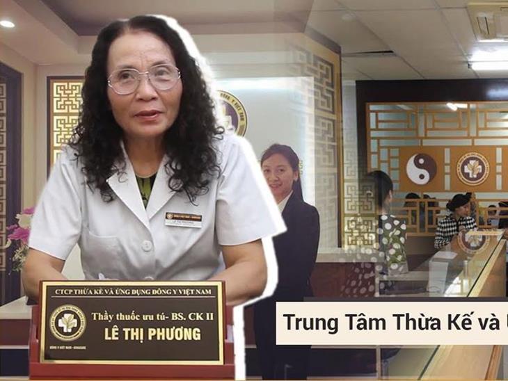 Bác sĩ Lê Thị Phương đánh giá rất cao phương pháp trị rụng tóc tại TTDLĐYVN