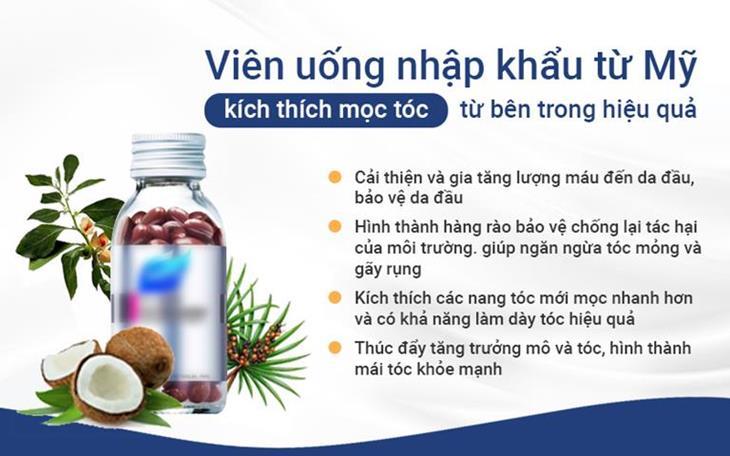Viên uống Hush&Hush là một trong những sản phẩm phụ trợ trong phương pháp