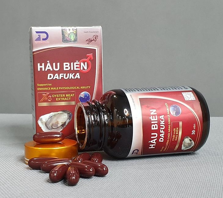 Tinh chất hàu biển Dafuka là sản phẩm trị tinh trùng yếu được phái mạnh yêu thích nhất hiện nay