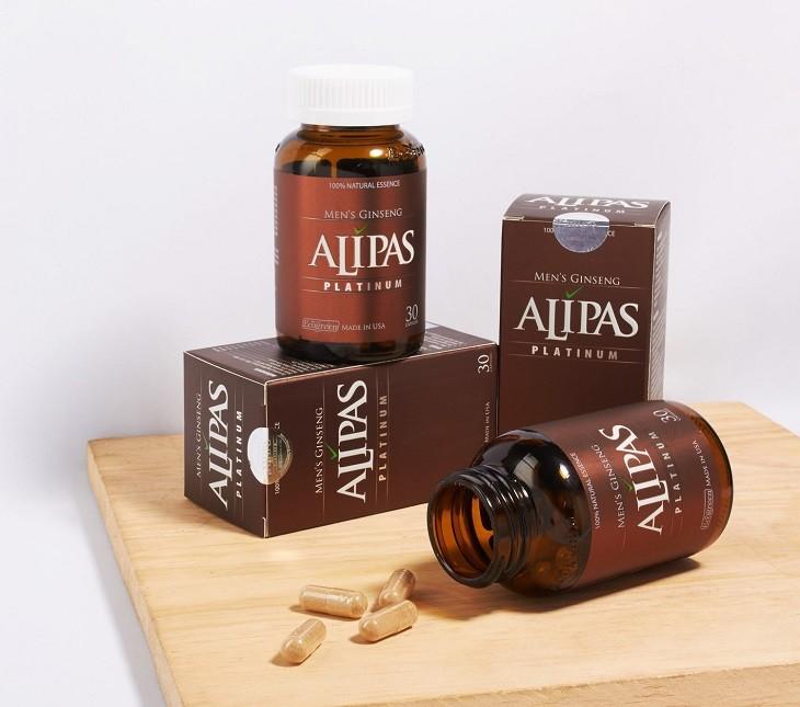 Sâm Alipas Platinum giúp cải thiện chất lượng tinh trùng cũng như nâng cao khả năng sinh lý nam