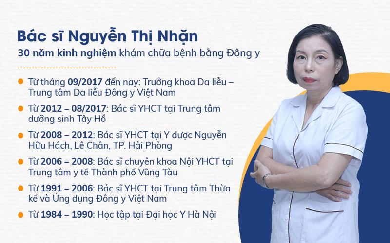 Bác sĩ Nguyễn Thị Nhặn là một trong những chuyên gia góp phần chính tạo ra bài thuốc An Bì Thang