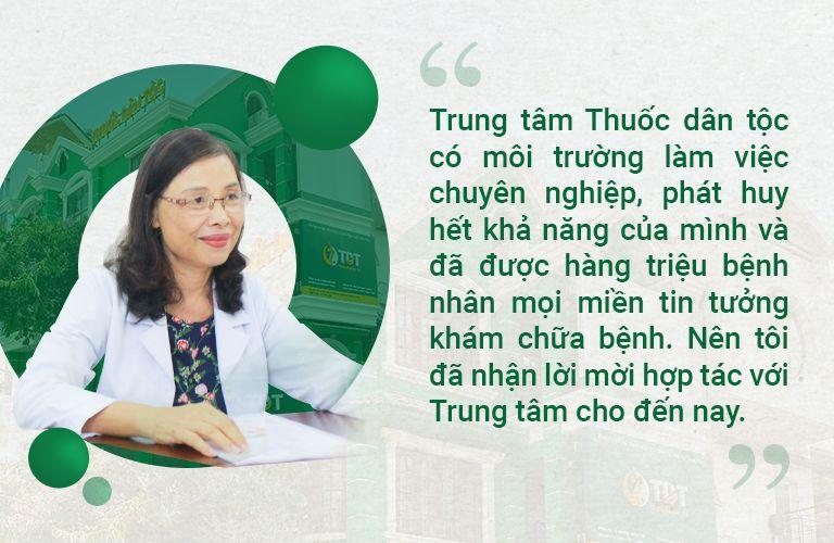 Bác sĩ Thư cùng những chia sẻ về Thuốc dân tộc Phú Nhuận