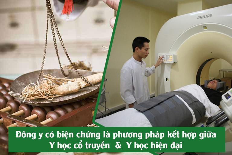 Kết hợp y học cổ truyền với y học hiện đại dựa trên những điểm chung về mặt lý luận, nghiên cứu, điều trị